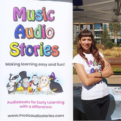 Anna-Christina with Music Audio Stories at Hidden River Festival image
